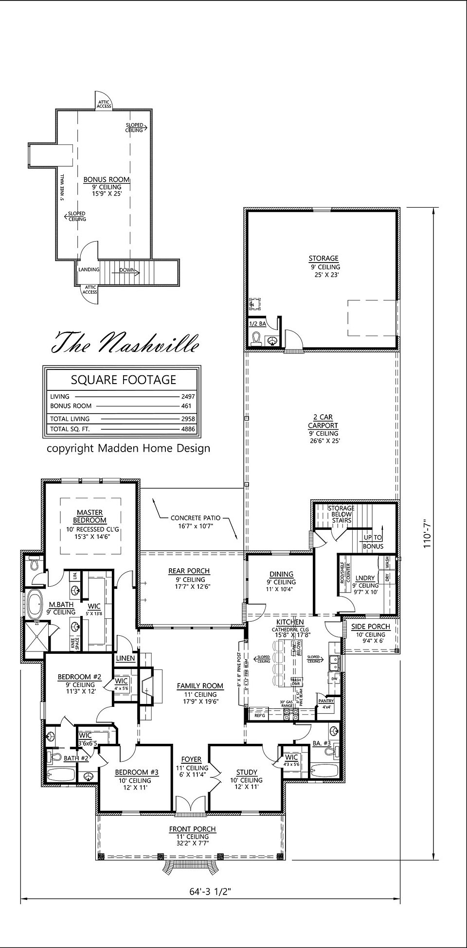 Madden Home Design The Nashville