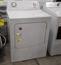 amana 6 5 cu ft electric dryer white 50439 [ 2620 x 4655 Pixel ]