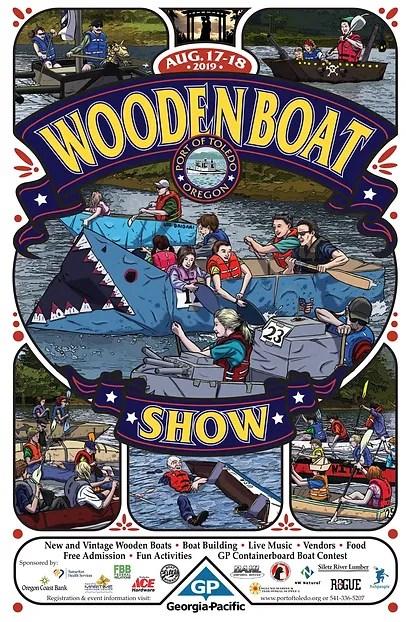 wooden boat show port