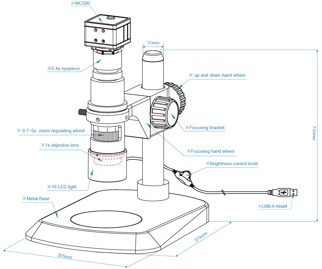 hight resolution of xdm500 diagram