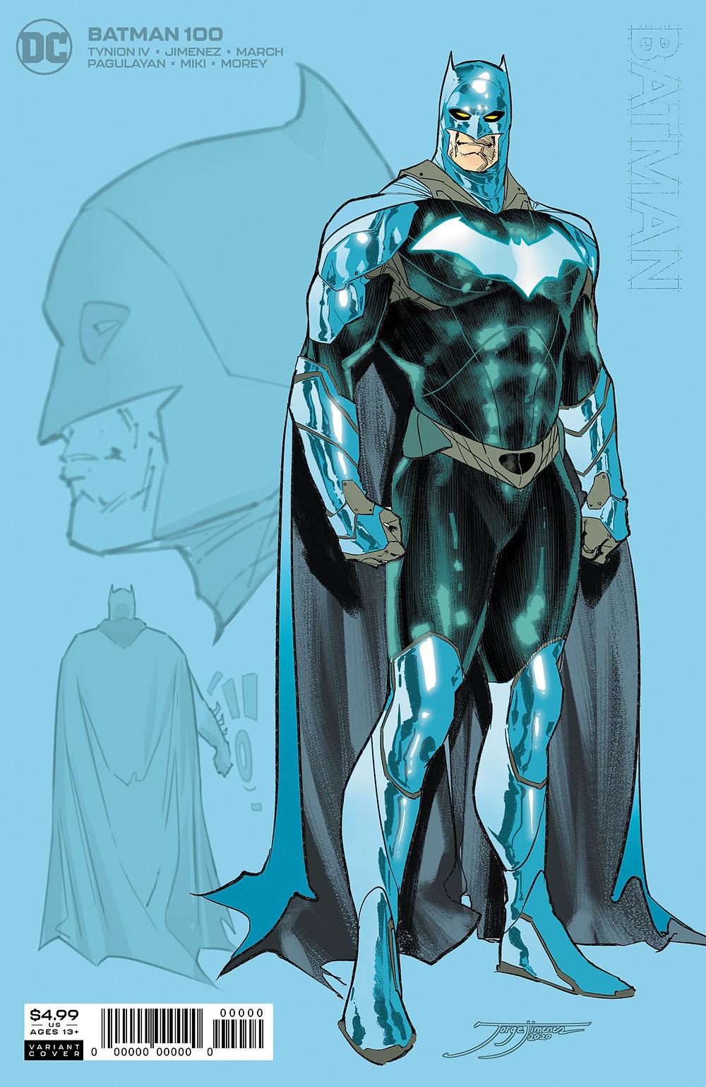 Batman ganha novo uniforme para edição comemorativa de número #100 ...