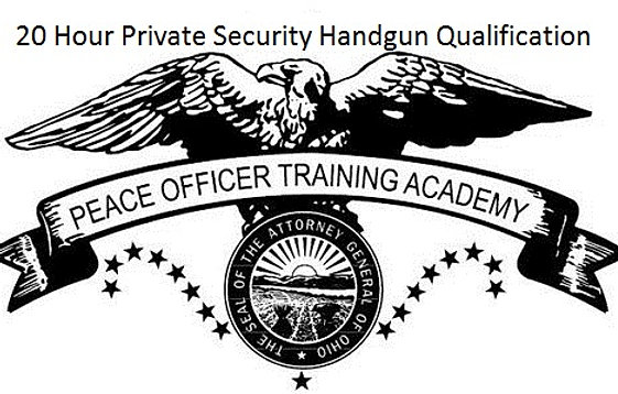 OPOTA 20 Hour Private Security Firearms Training
