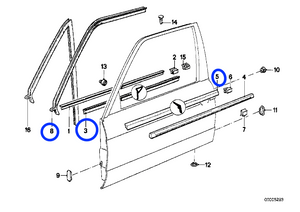 Youan: Bmw E30 Convertible Window Seals