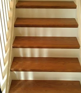 Stairs Classic Wood Floors   Red Oak Stair Treads And Risers   Wooden Stairs   Wood Stair   Hardwood Floors   Railing   Stair Parts