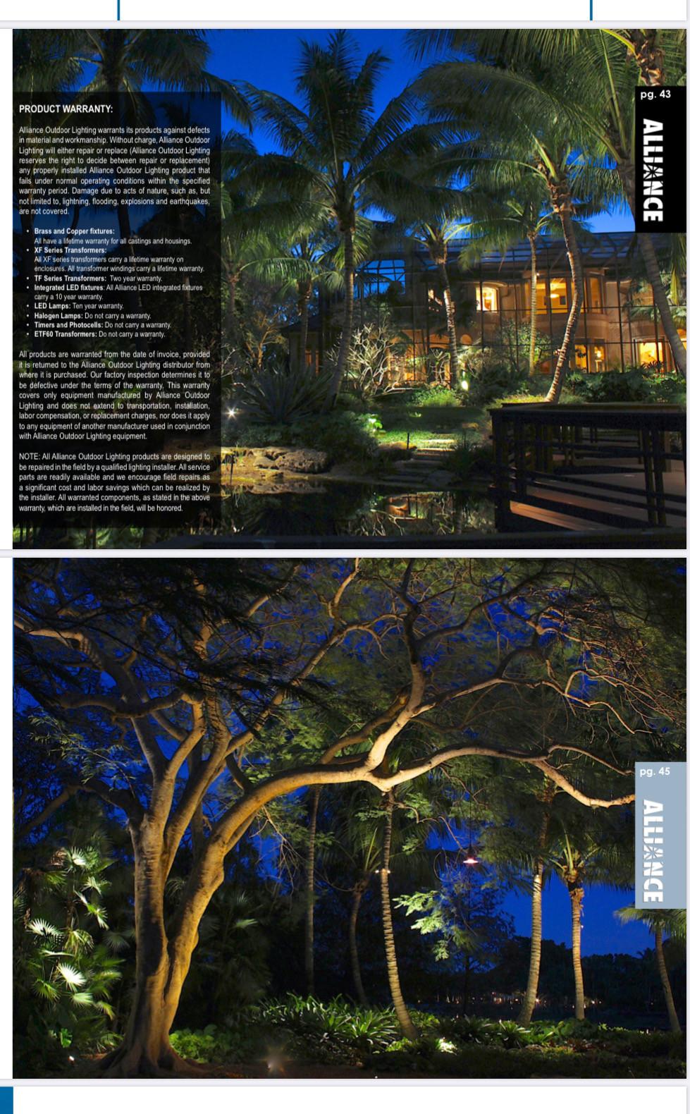 magazine press alliance outdoor lighting