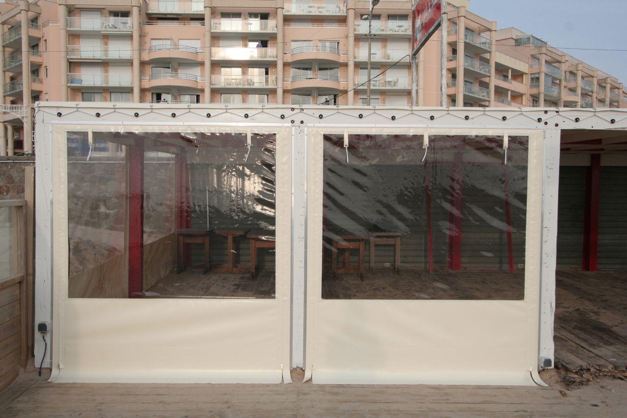 bache transparente pour fermeture terrasse fermeture. Black Bedroom Furniture Sets. Home Design Ideas