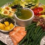 Salmon Nicoise Salad Platter