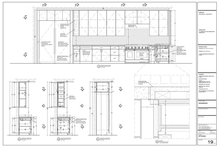 Grafo Draft And Media Services, woodwork shop drawings