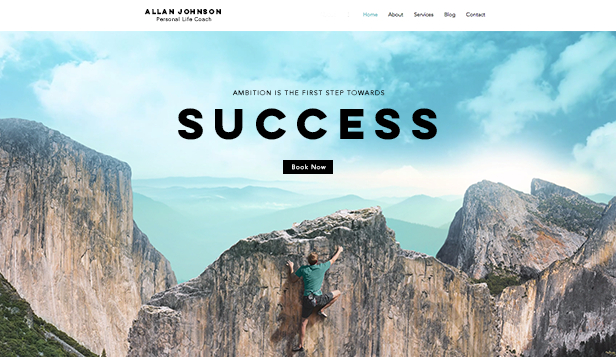 Consulting & Coaching Website Templates Business Wix