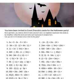 5 Halloween Math Activities and Worksheets - IntoMath [ 1056 x 816 Pixel ]