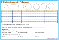 Mathworksheets4kids Sum Of Interior Angles Answers ...