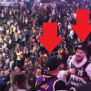 Lakers Fan Punches Nuggets Fan In The Face And They Fight