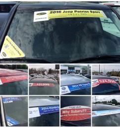 auto dealer windshield banners [ 960 x 960 Pixel ]