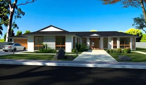 3 Car Garage House Plans Australia 172s Clm House Plan Set