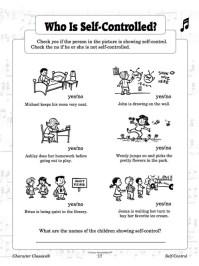 Self-Control - Activity Resource Book & CD | LittleLion ...