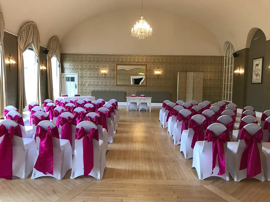 chair covers bristol and bath where can i rent a baby shower taffeta sash hire cover clifton pavilion zoo