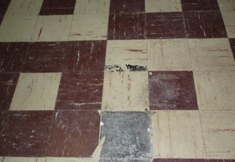 asbestos floor tiles and what to do