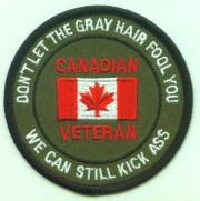 canadian veteran grey hair patches