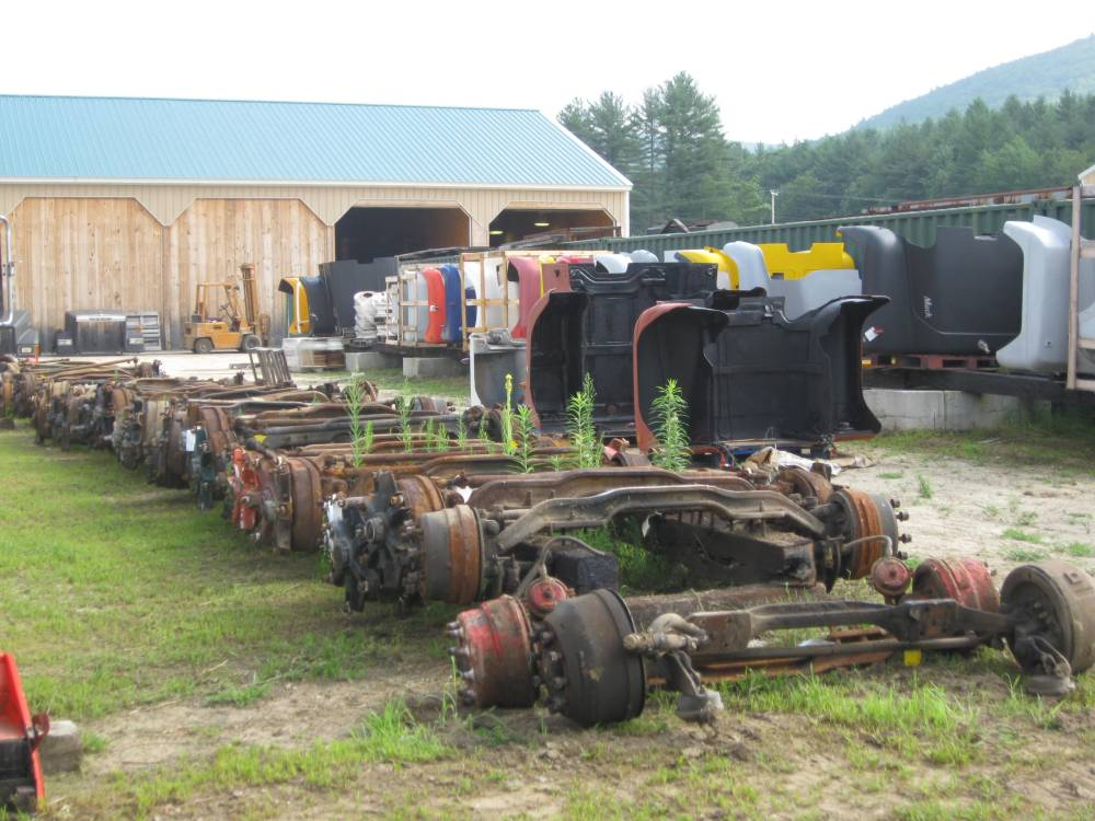 medium resolution of mack 12 20k front axle beams to complete front ends