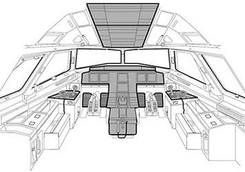AGRONN Simulation Technologies A320 flightdeck for training