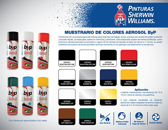 Muestrario De Colores Pinturas Inca