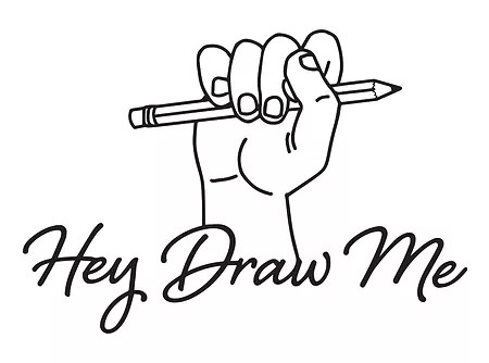illustration hey draw me