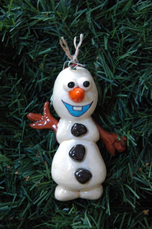 Doughbelles Personalized Salt Dough Ornaments Roberta