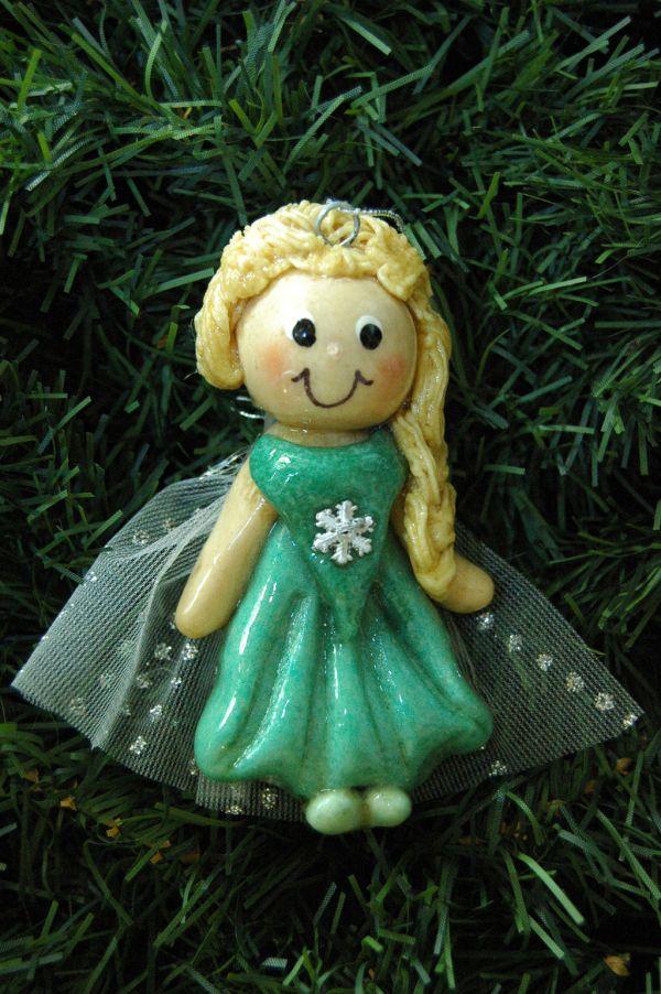 Doughbelles Personalized Salt Dough Ornaments Roberta