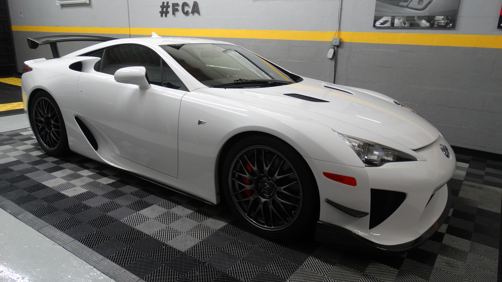 2012 LEXUS LFA At First Class Autosports Miami For Paint