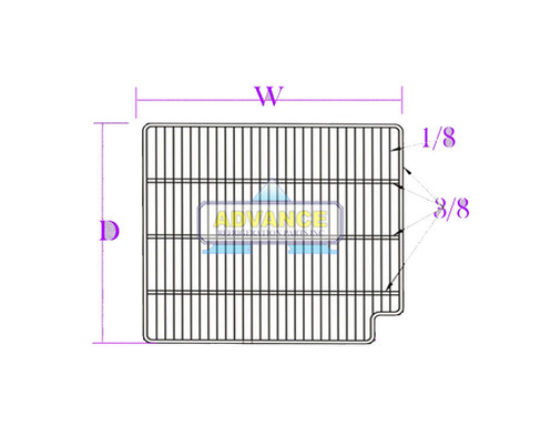 Wire Shelf 33-1/4
