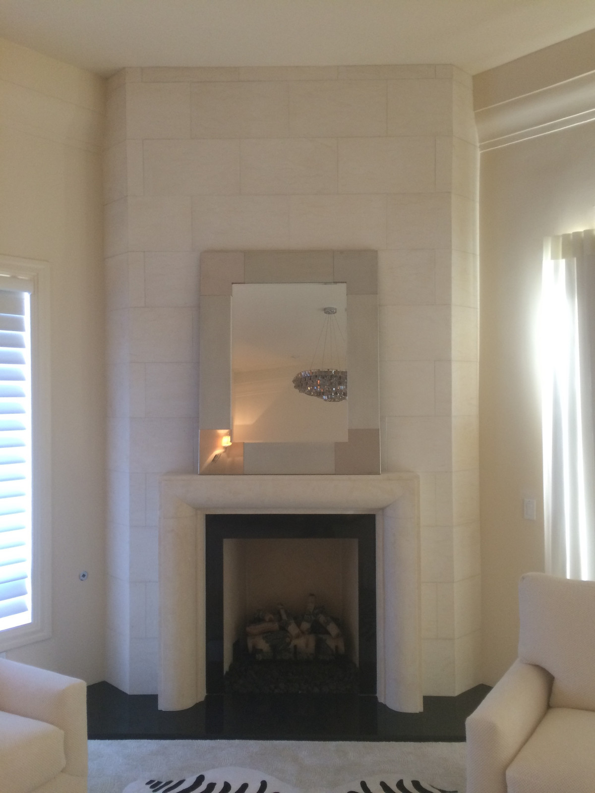 Modern Fireplace Mantels/Surrounds