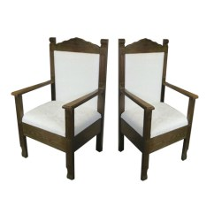 How To Make A Queen Throne Chair Child S Desk And Set Pink Mr Mrs Chairs Our Thrones Are Fit For King They Sure Bold Statement As Your Sweetheart Or In Vintage Lounge Area
