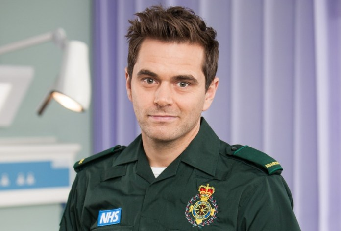 Casualty's Michael Stevenson to crossover to Holby
