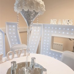 Wedding Chair Covers Derby Comfy Computer Chairs Centrepiece Hire Derbyshire Uk Everlasting Weddings