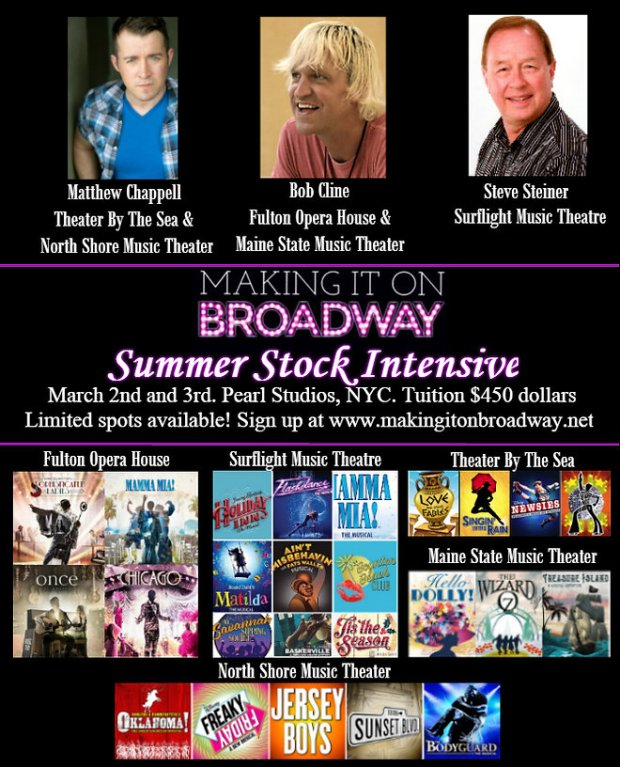 Summer Stock Auditions 2019 Nyc | Viewsummer co