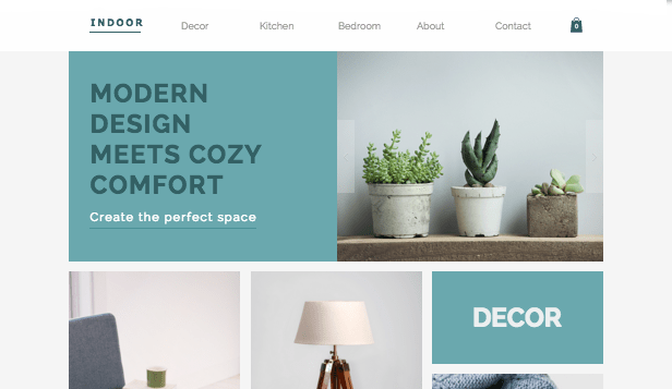 Home & Decor Website Templates  Online Store  Wix