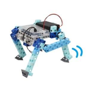 作成するロボット:リンク4足