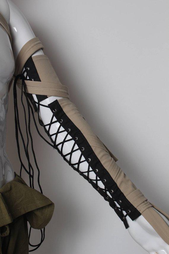 tan arm harness