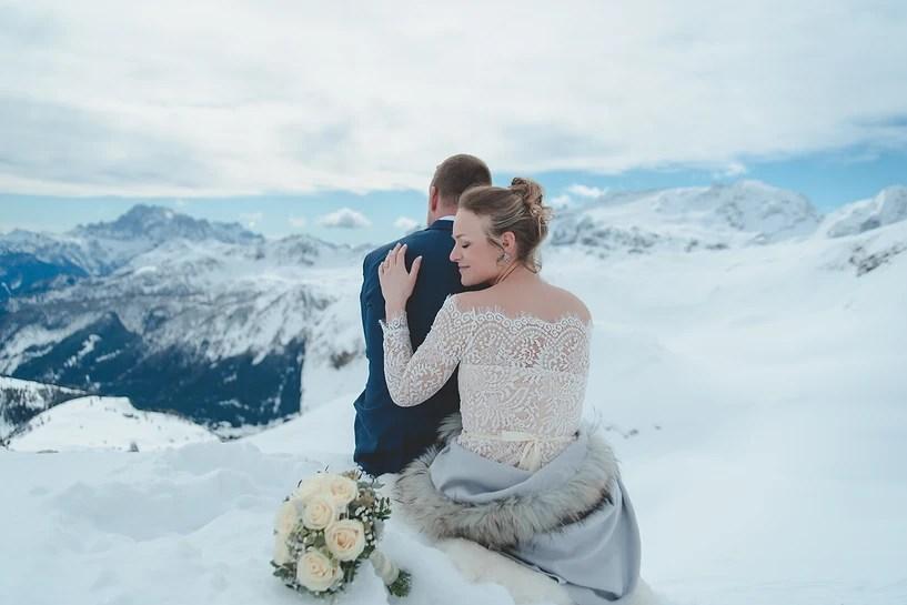 Mountain Wedding - Winter Wedding - Alta Badia - Vallon, Corvara
