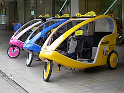 Image result for bicycle taxi in rotterdam