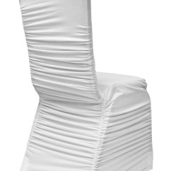Wedding Chair Covers Montreal Oxo Tot Sprout Replacement Cushion Set Uk Rental Glam Location Decor White Ruched Cover