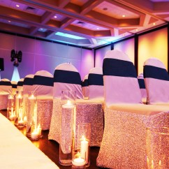 Wedding Chair Covers Montreal Dining Table And Chairs Hong Kong Rental Glam Location Decor Silver Cover