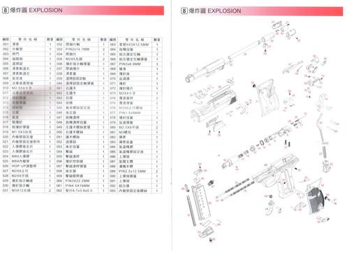 WE P38 Instruction Manual
