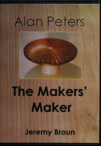 Alan Peters The Makers Maker