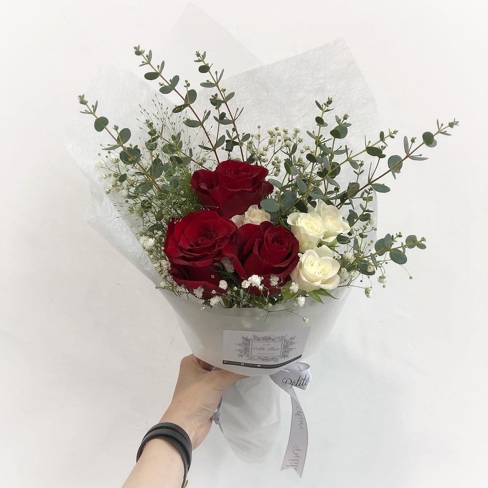 3 roses i love