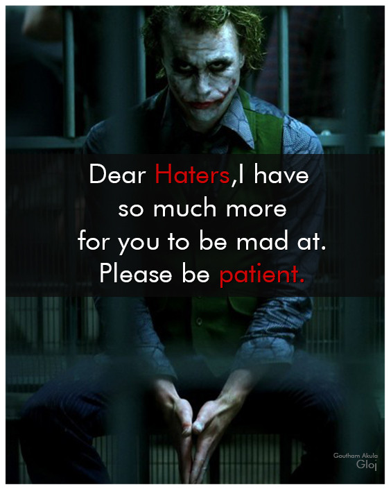 Haters Quotes : haters, quotes, Haters, Somuch, At.Please, Patient, #Haters, Quotes