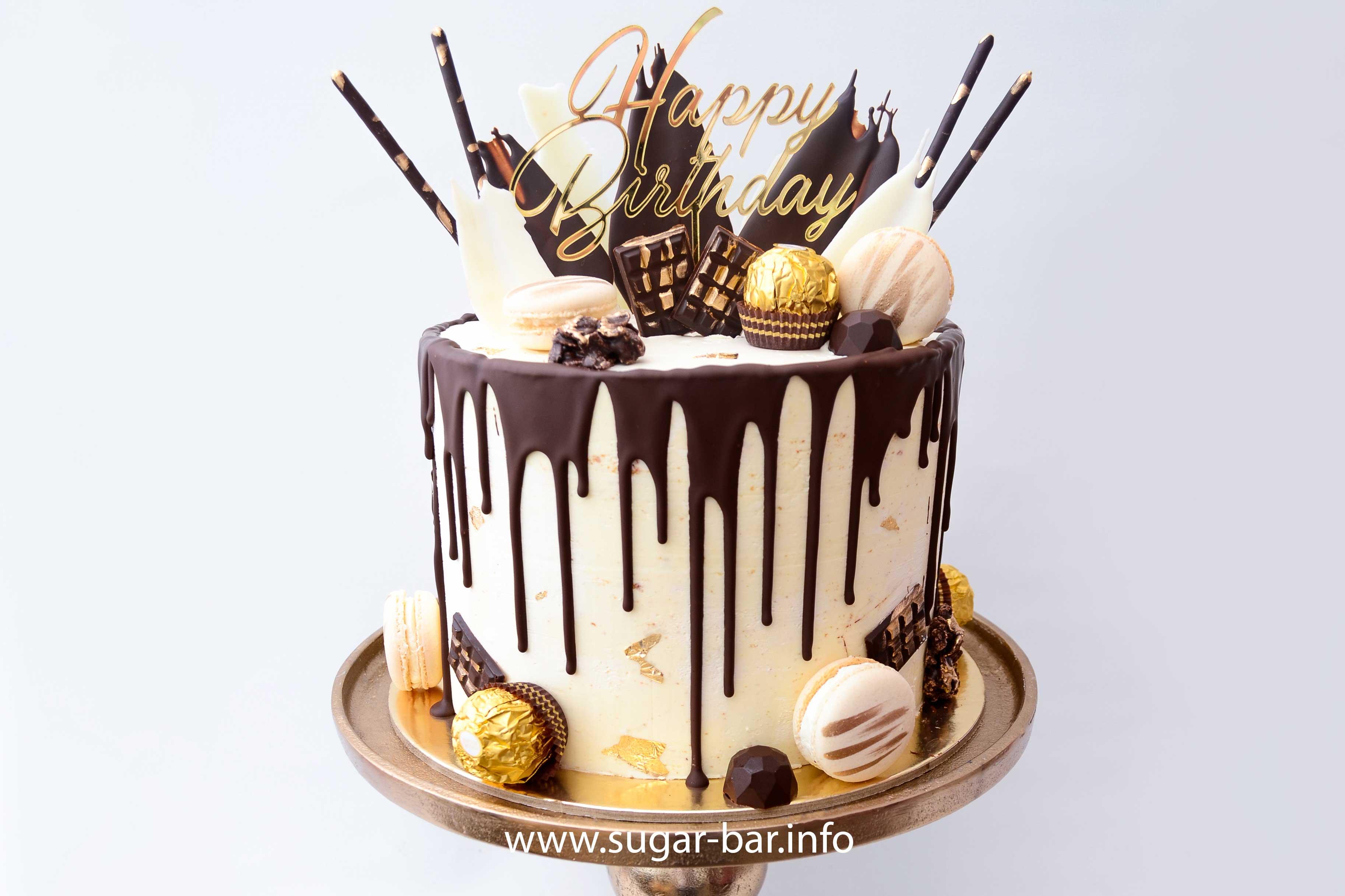 Sugarbar Hochzeitstorte Geburtstagstorte Candybar Macarons