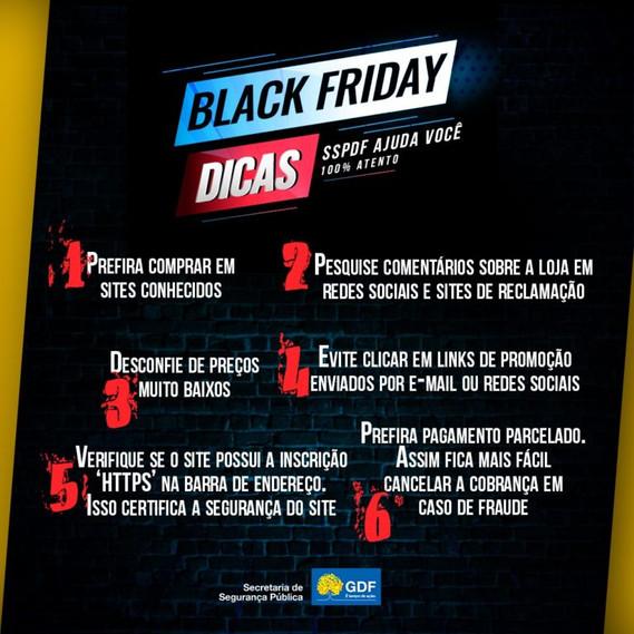 Fique atento as dicas da PCDF para não cair em Golpes na Black Friday