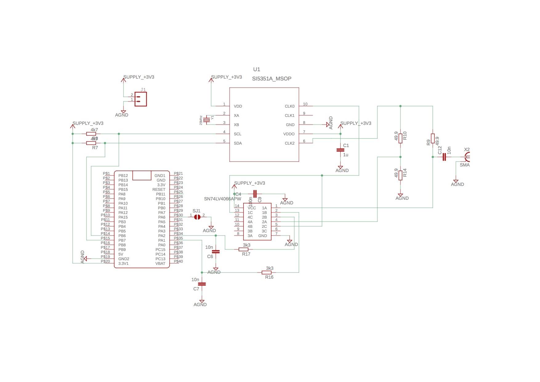 Antenna analyzer kit 200 Mhz WSPR