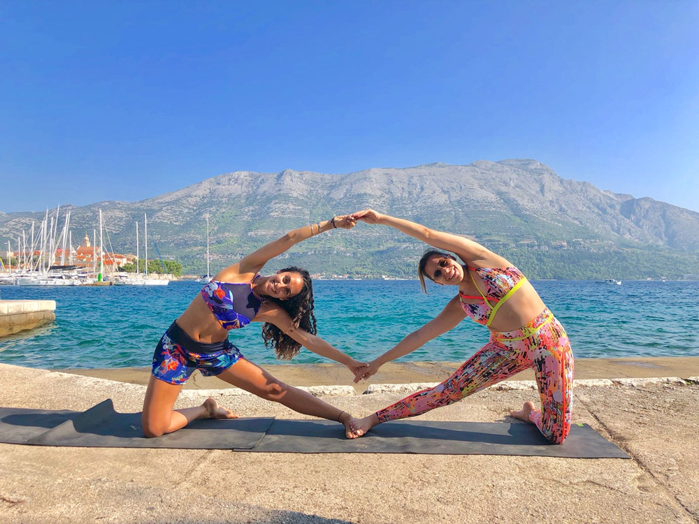 Yoga And Greece The Perfect Combination